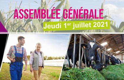 L''AG du SDAEC-TERRALLIANCE aura lieu le 1er juillet 2021 à LE QUILLIO (22).