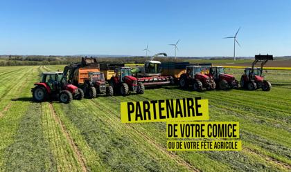 Le SDAEC-TERRALLIANCE, partenaire de vos comices, vos portes ouvertes et vos fêtes agricoles cet été !