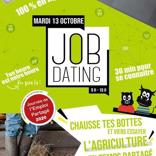 TERRALLIANCE célèbre le temps partagé en agriculture avec un JOB DATING spécial salarié-e agricole à temps partagé.