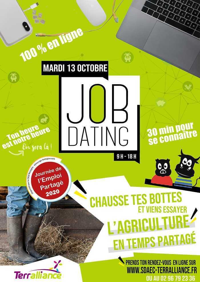 TERRALLIANCE célèbre le temps partagé en agriculture avec un JOB DATING spécial salarié-e agricole à temps partagé. 0